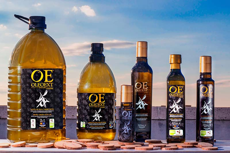 Oleoext, productores de aceite de oliva virgen extra calidad premium, de Cáceres, Extremadura